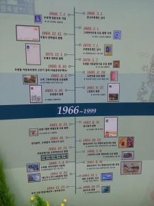 세계우표전시회 - 한국 우정의 발자취 3