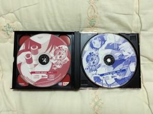 섬란 카구라 2 진홍 사운드 트랙 진영/홍련/진홍 CD 3~4