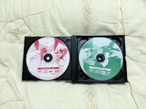섬란 카구라 2 진홍 사운드 트랙 진영/홍련/진홍 CD 1~2