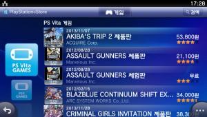 PS Store에서는 제품판과 체험판도 별개의 아이템으로 표시한다 (ASSAULT GUNNERS)